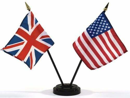 ingles-americano-britanico